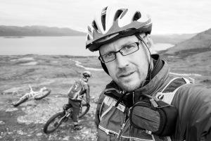 Fredrik Broman on mountainbike photo expedition